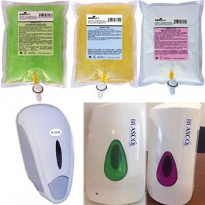 Jaboneras gel hidroalcoholico/ dermo.