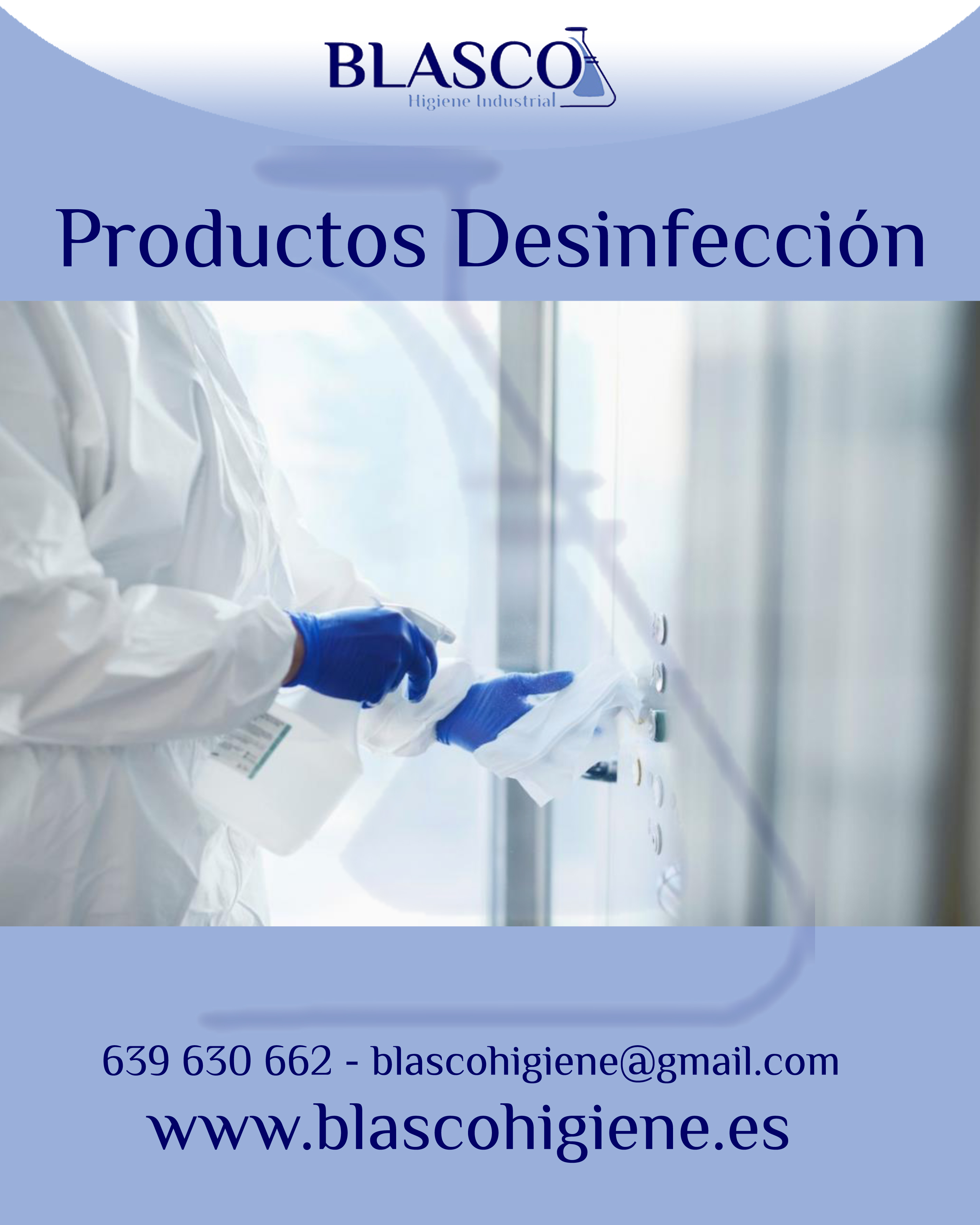 Blasco Higiene - Productos desinfección virucidas